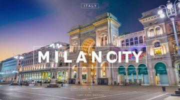Milão em timelapse