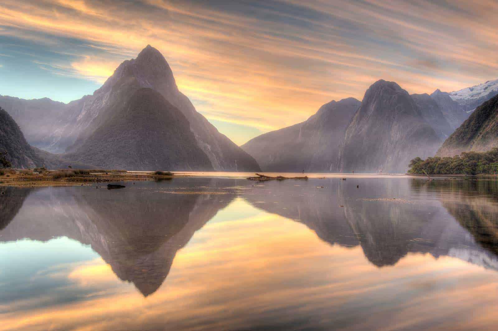 Milford Sound, Naujoji Zelandija