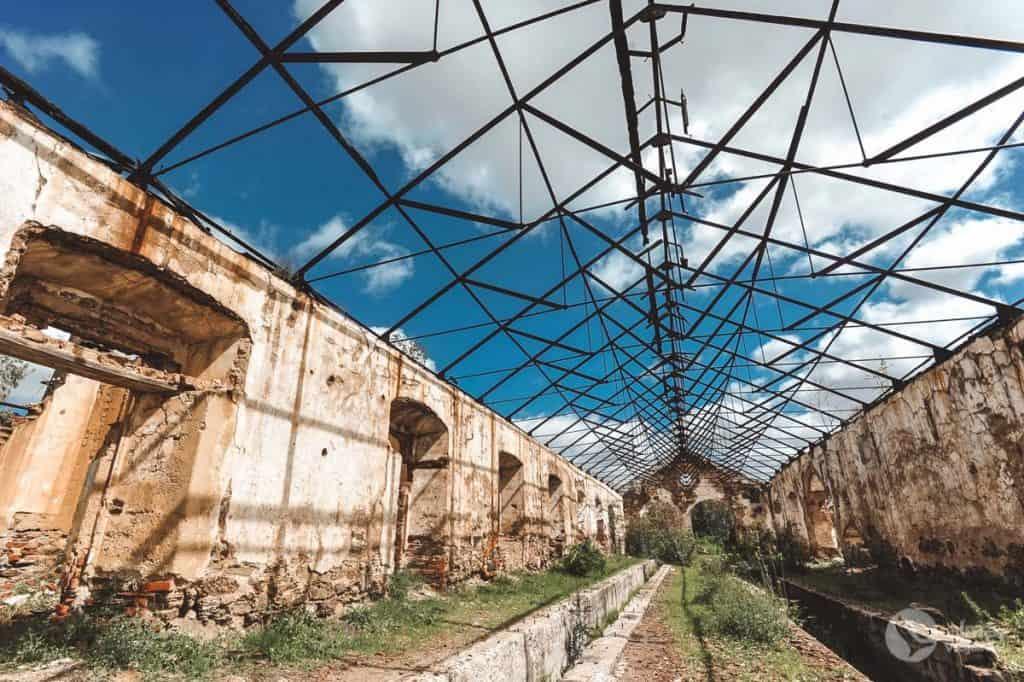 Oficinas ferroviárias da Mina de São Domingos