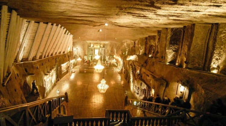 Património Mundial na Polónia: minas de Wieliczka