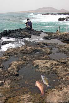 Pescando no Mindelo, Cabo Verde
