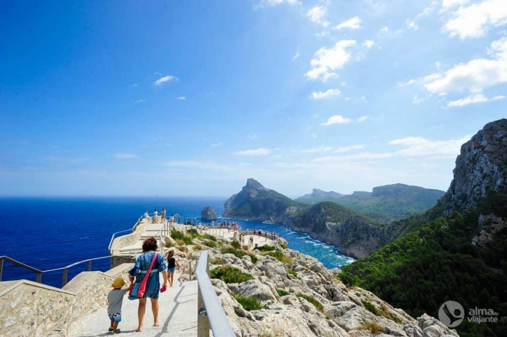 Miradouro Es Colomer, no Cabo Formentor