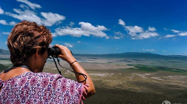 Razgledna točka kraterja Ngorongoro