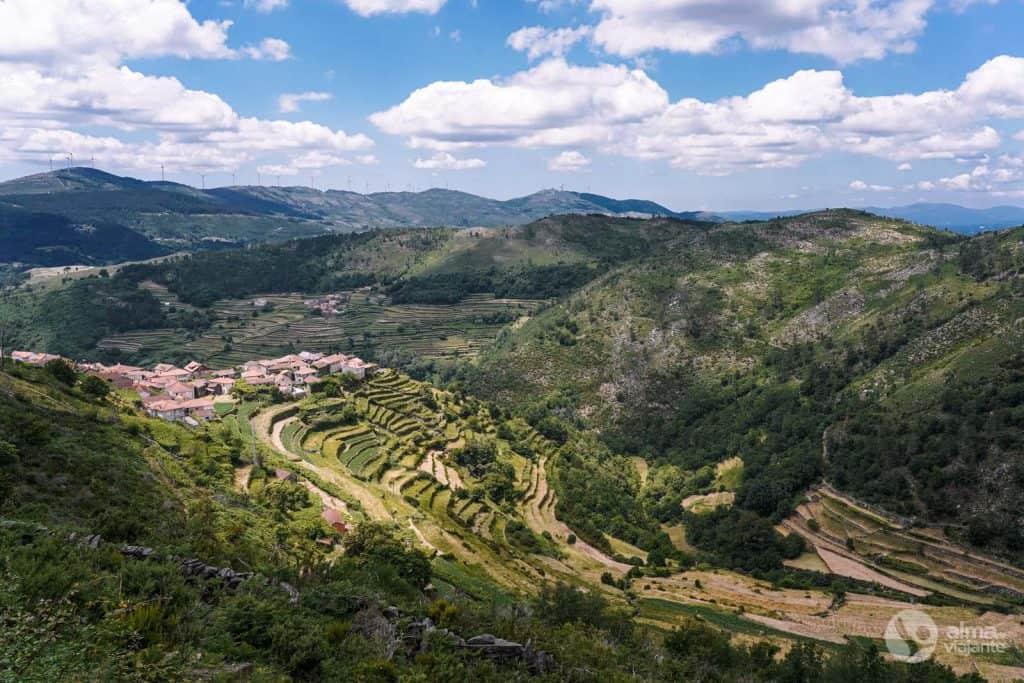 Visitar Sistelo: Miradouro dos Socalcos