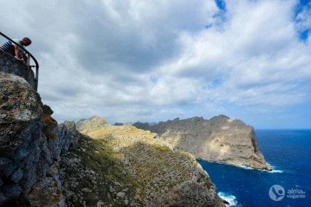 O que fazer em Maiorca: Miradorouro Es Colomer, no Cabo Formentor