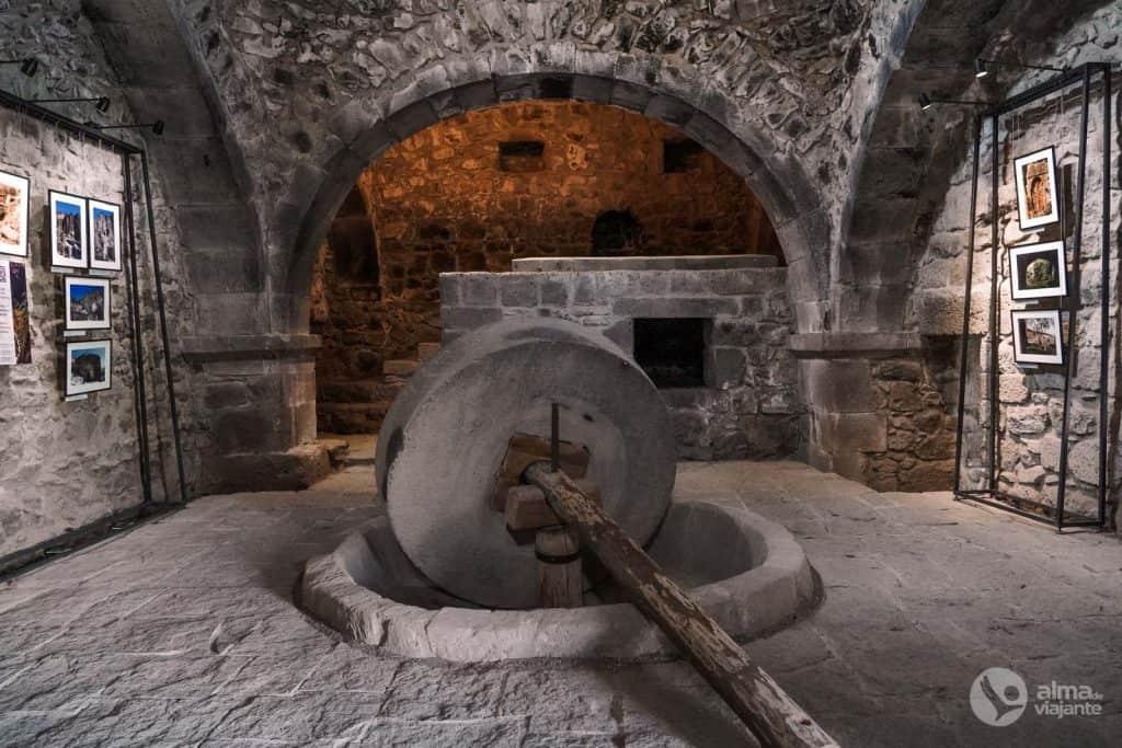 Moinho de óleo, Mosteiro de Tatev