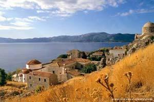 Monemvassia, península do Peloponeso