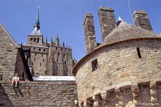 Muralhas de Mont Saint-Michel