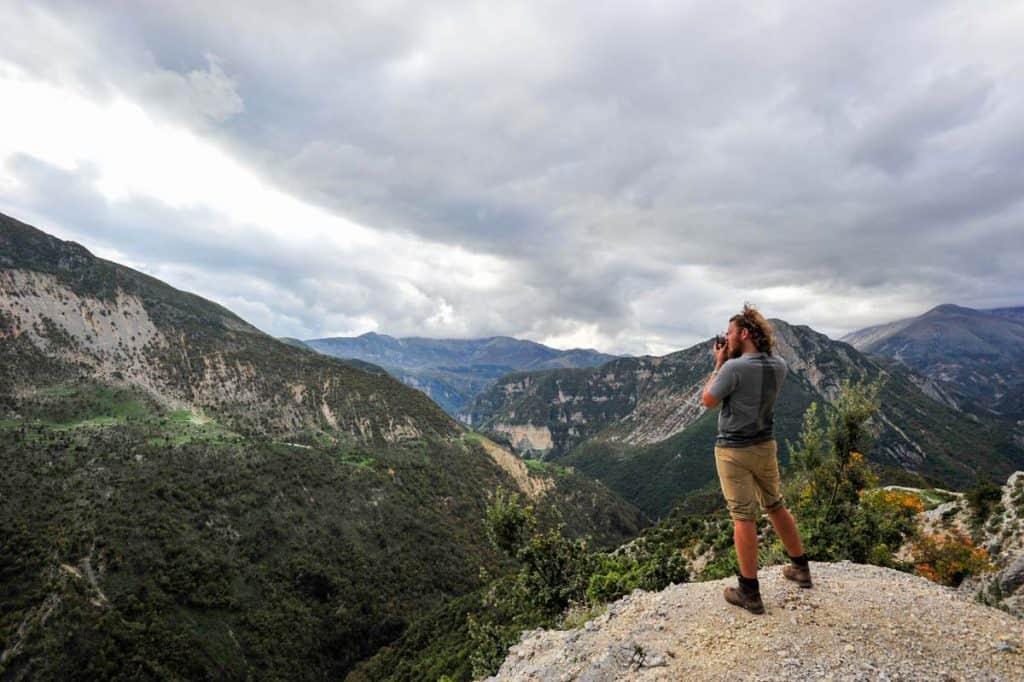 Montanhas Albânia