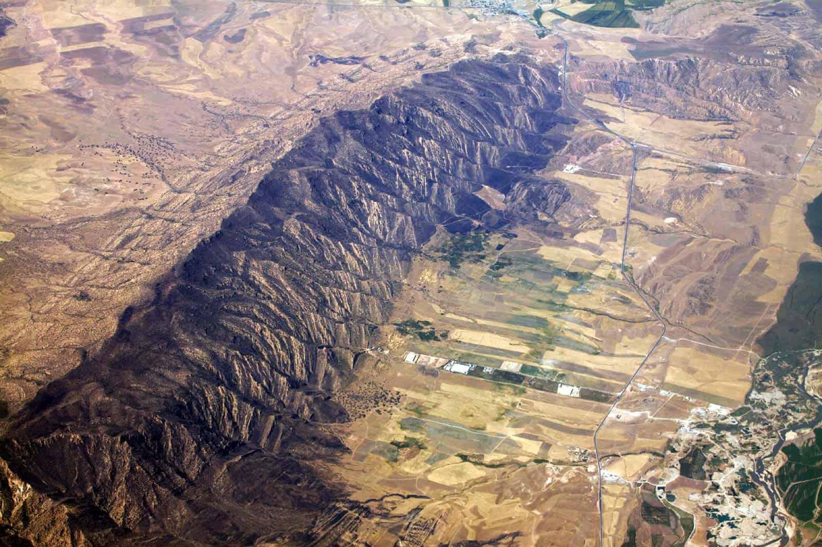 Montanhas no Iraque