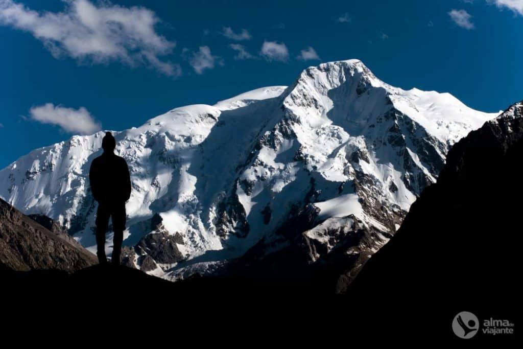 Trekking em montanha