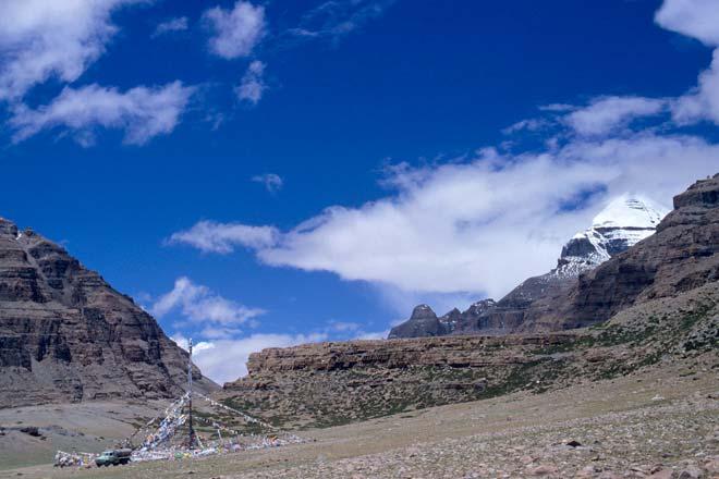 Monte Kailas, no Tibete