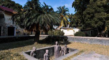 Monument de l'esclavitud a Zanzíbar