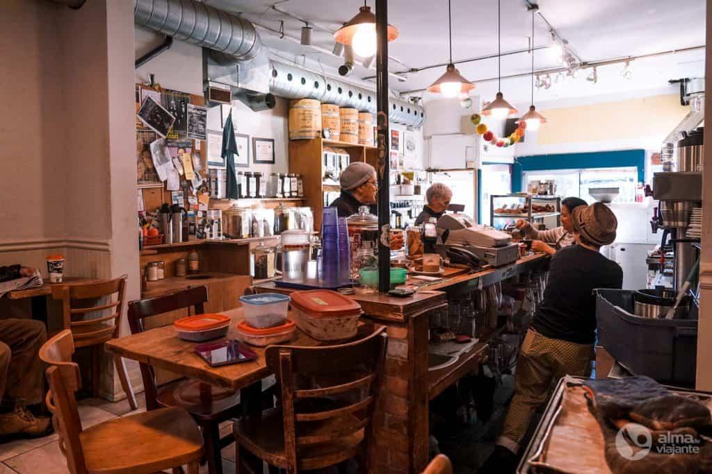Cafés de Toronto: Moonbean Coffee Company