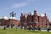 Museu da História do Estado, no centro histórico de Moscovo