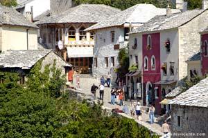 Lado muçulmano de Mostar