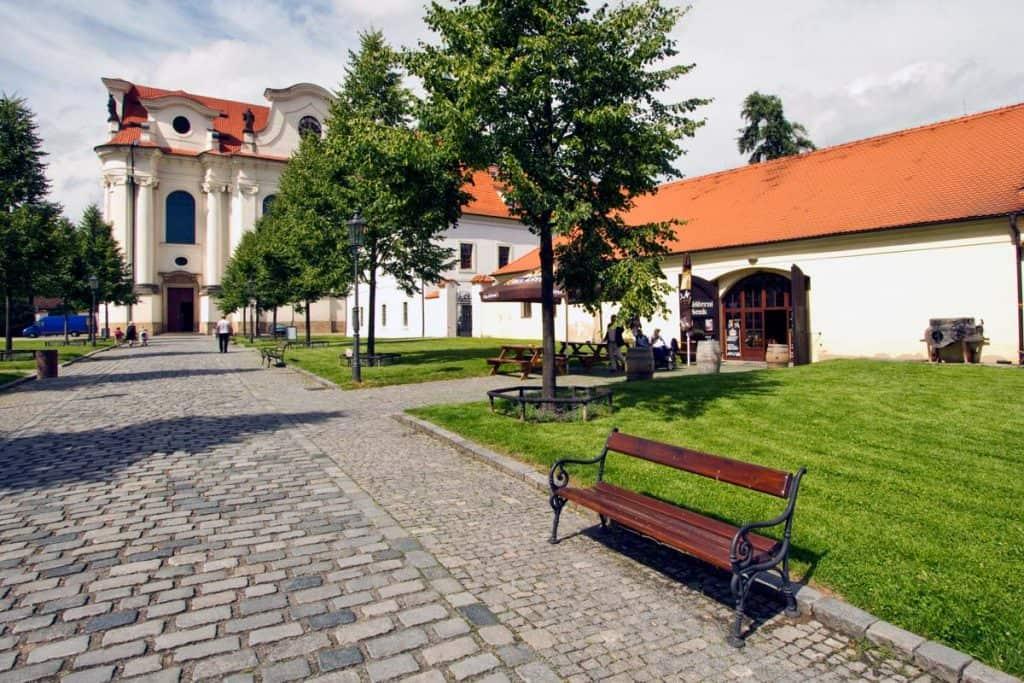 O que visitar em Praga: Mosteiro Břevnov