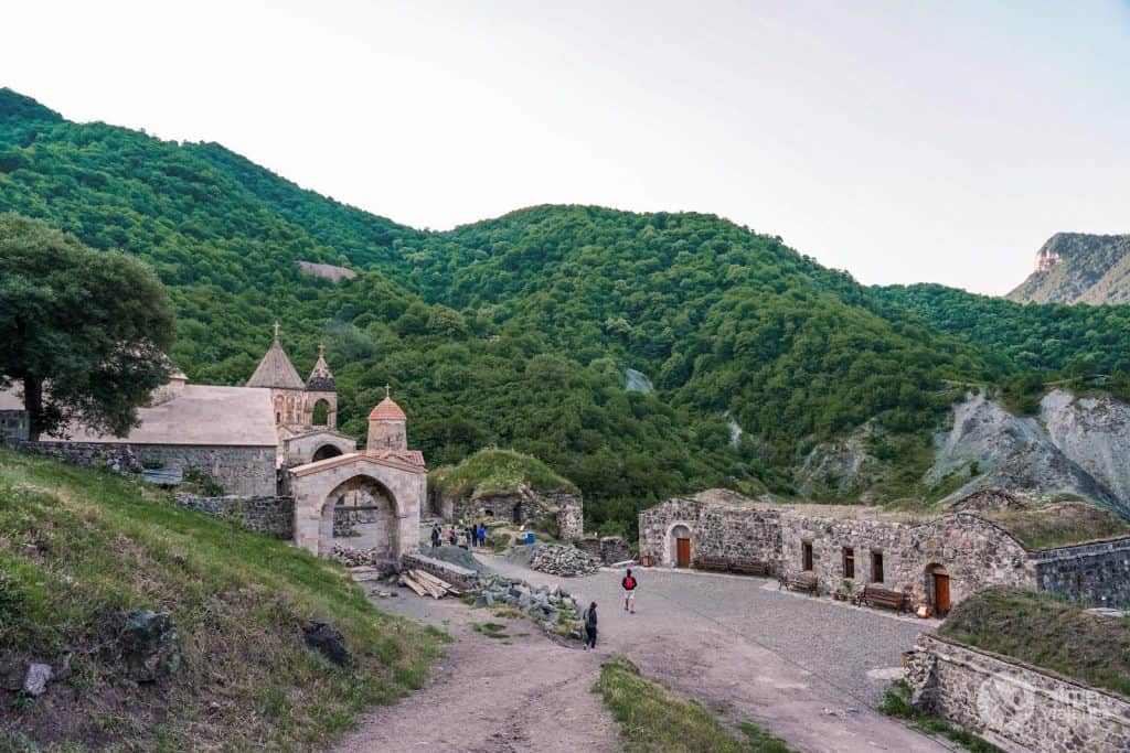 Mosteiro Dadivank, Nagorno-Karabakh