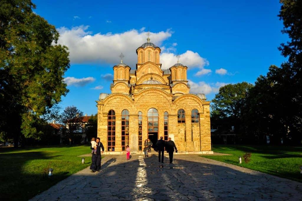 Mosteiro de Gracanica Kosovo