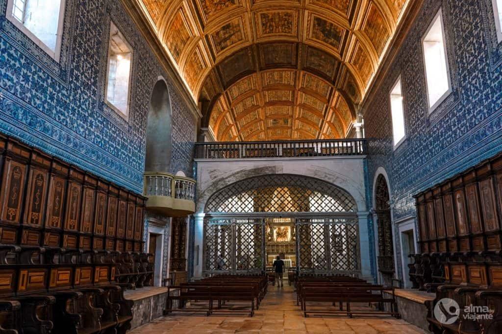 O que fazer em Alcobaça: visitar Mosteiro de Santa Maria de Coz