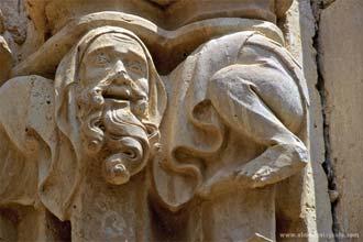 Pormenor do Mosteiro Santes Creus, pioneiro de Cister na Catalunha