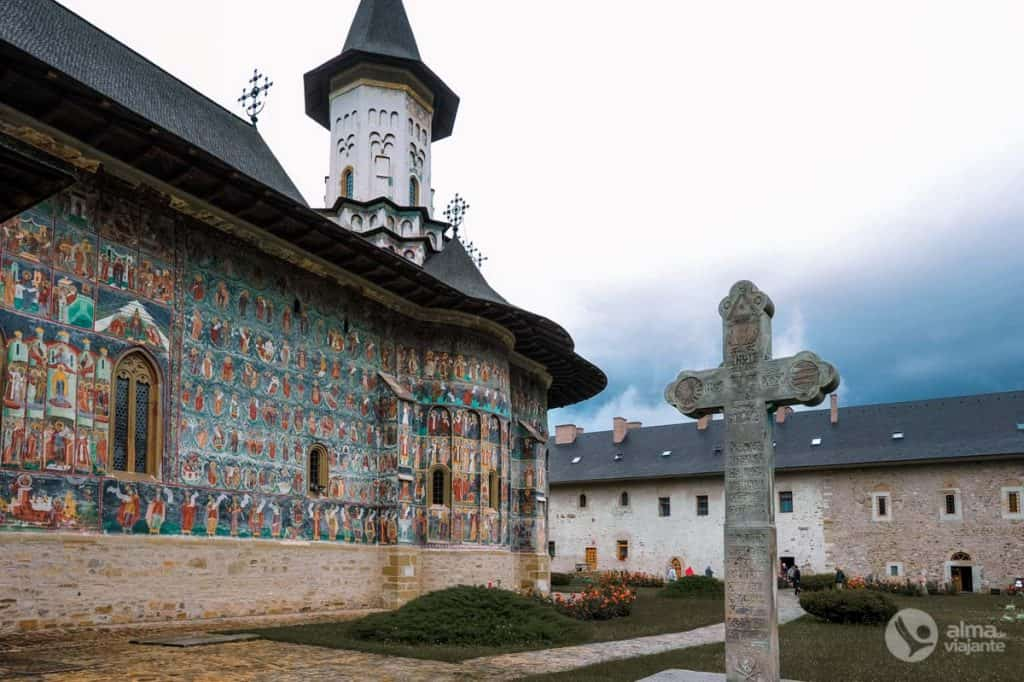 Bucovina va pintar monestirs: Sucevita