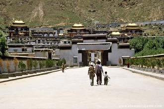 Xighatse, antiga capital do Tibete