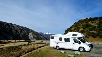 Viajar de autocaravana na Nova Zelândia