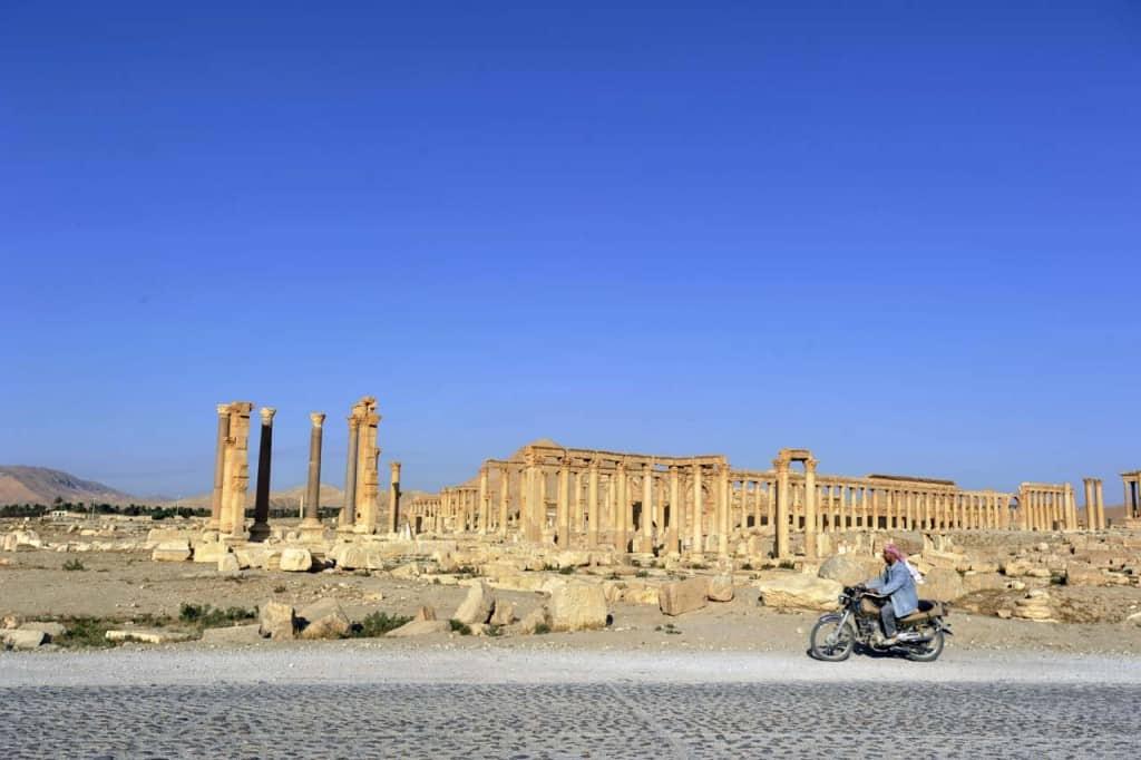 motorizada em Palmira