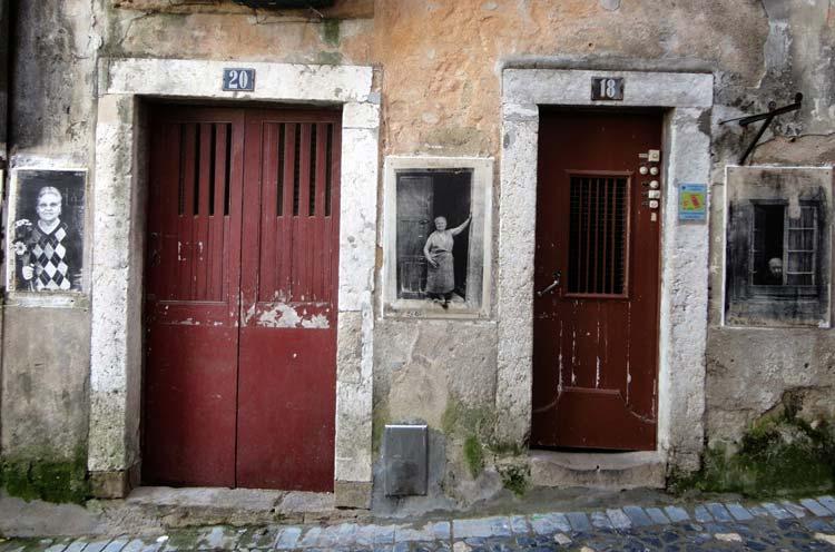 Heimsókn Lissabon: Bairro da Mouraria