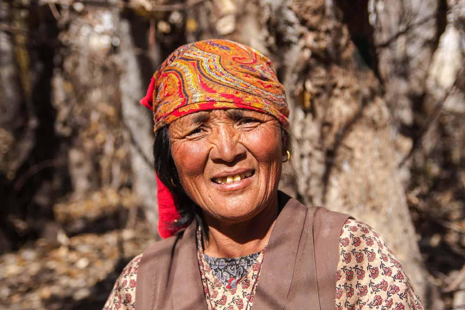 Tribo Jhong, Mustang, Nepal