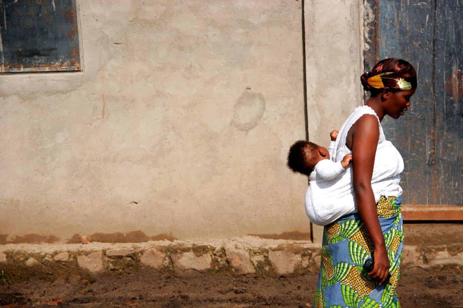 Mulher do Burundi