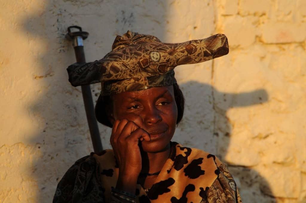 Mulher da etnia Herero