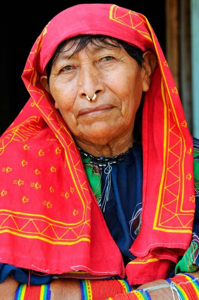 Mulher da etnia Kuna Yala, San Blás