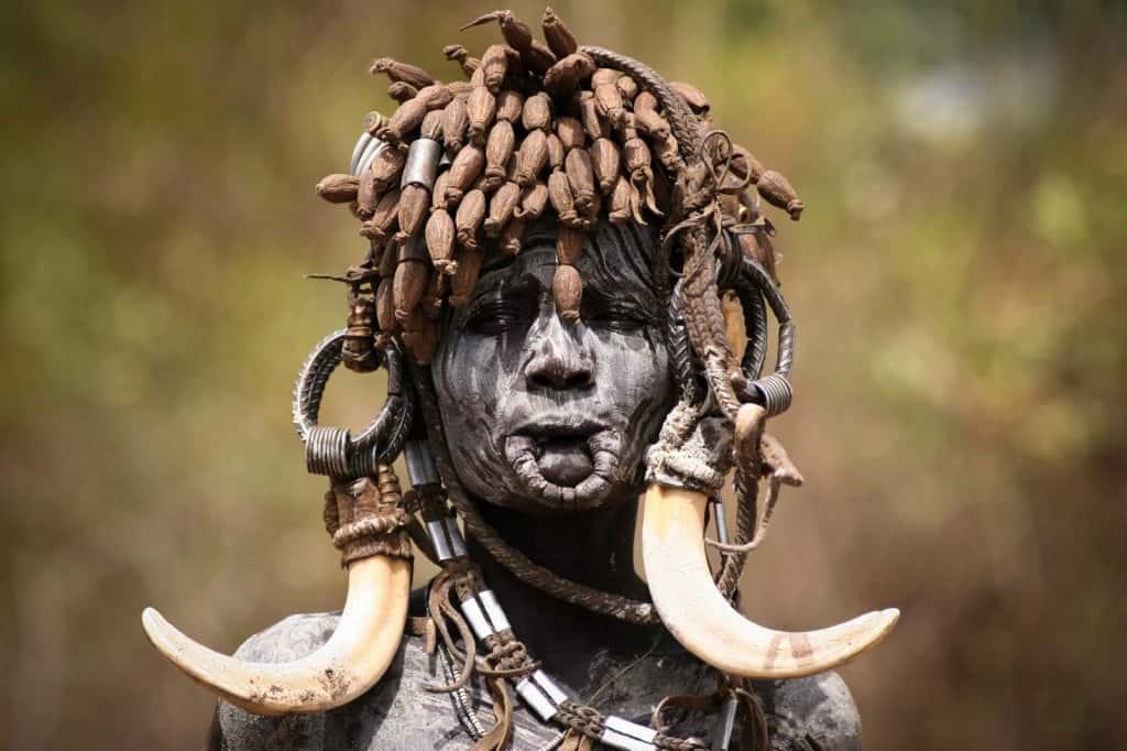 Visitar África: Mulher Fursi, Etiópia
