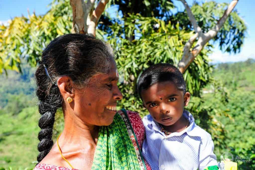 Mulher do Sri Lanka