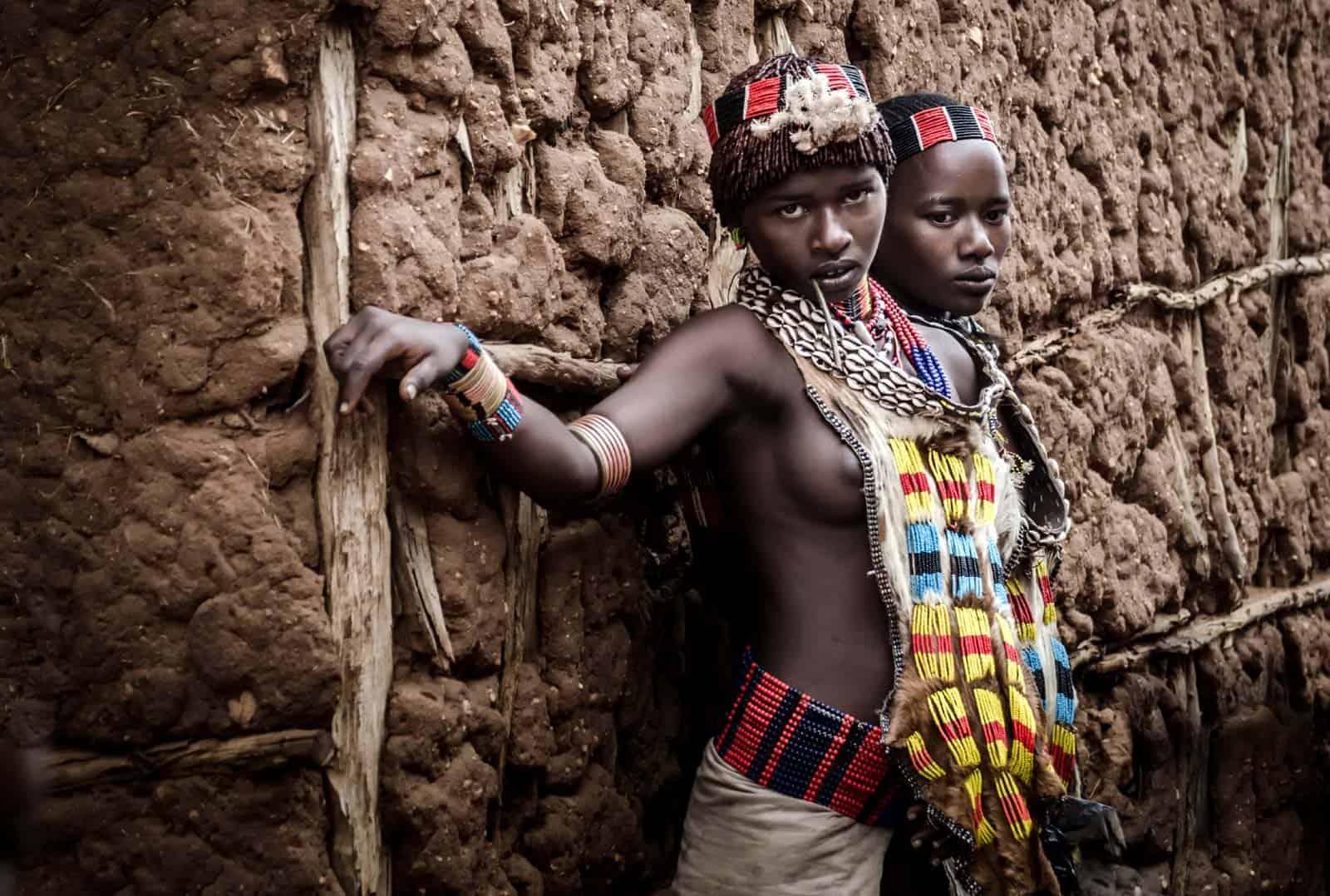 Gentis Hamer, Omo slėnis, Etiopija