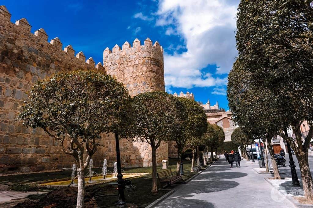 O que fazer em Ávila: Puerta del Alcázar