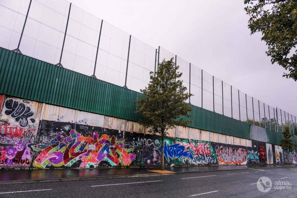 Muro da Paz, Belfast