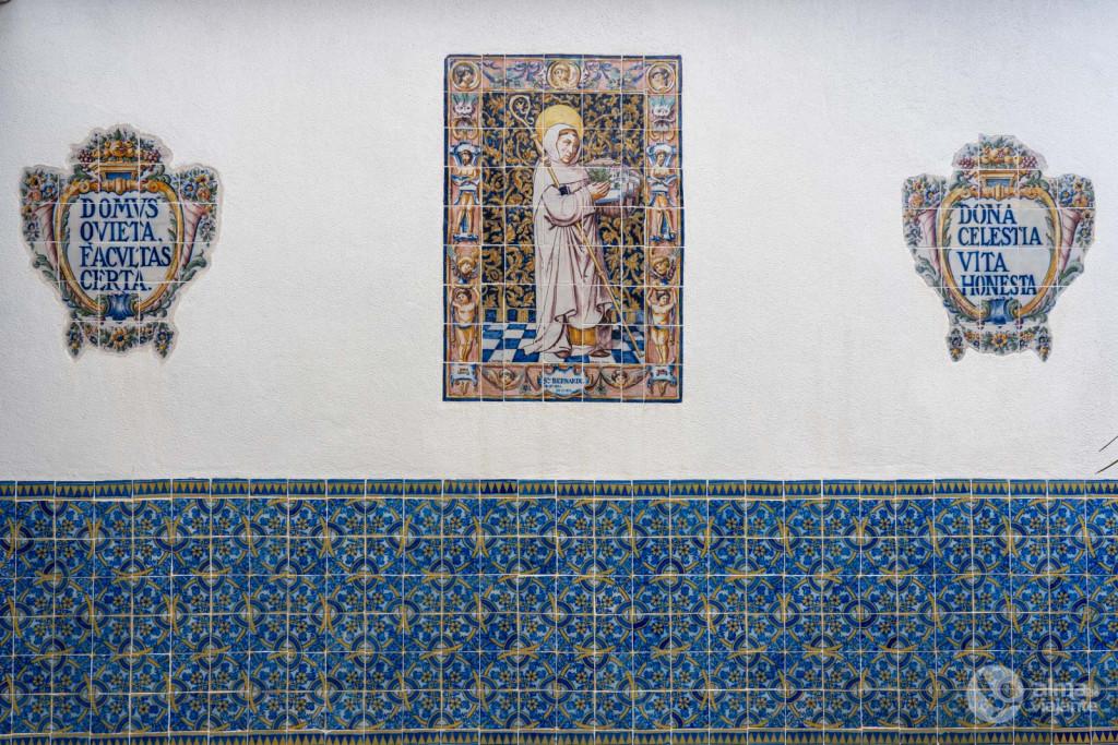 Azulejos no Museu de Almeida Moreira, Viseu