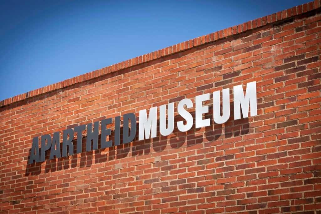 Apartheid Museum í Jóhannesarborg