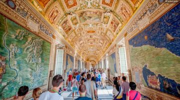 Atrakcionai Romoje: Vatikano muziejai