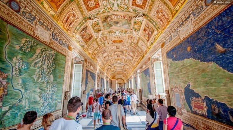 Attraktioner i Rom: Vatikanmuseerne