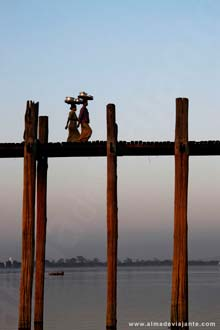 Ponte U Bein em Amarapura, Mandalay