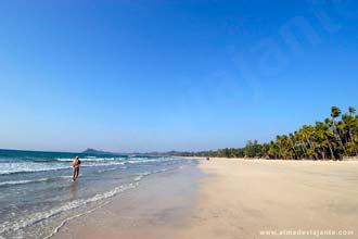 Praia de Ngapali, Myanmar
