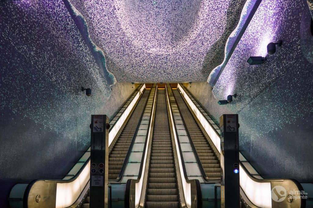 Toledo Metro Station, Napólí
