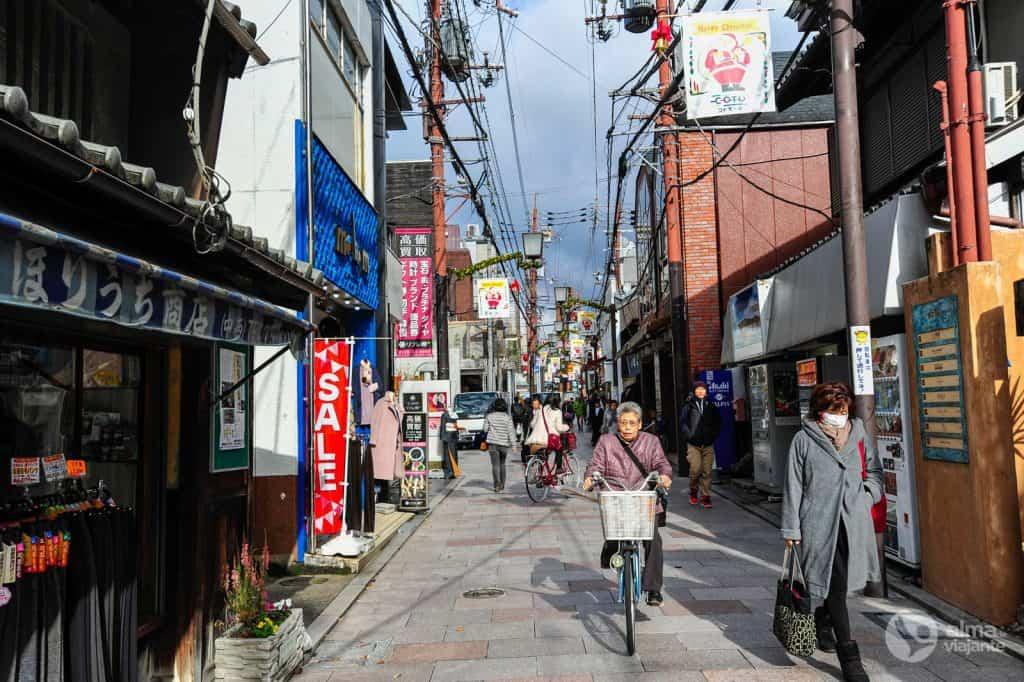 Rua de Nara, Japão
