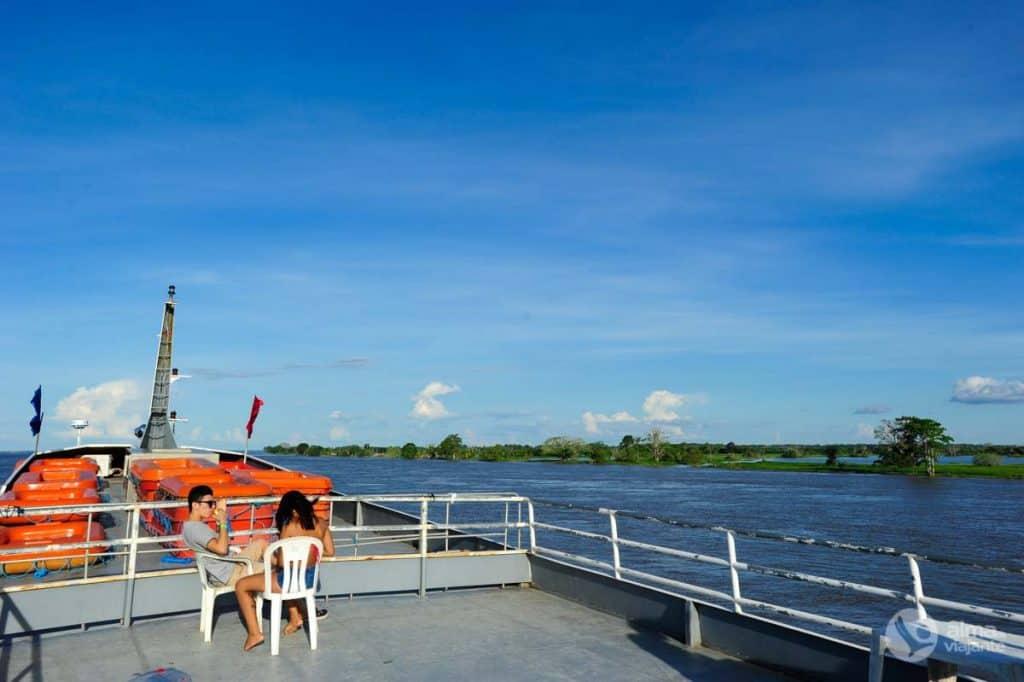 Gita in barca Manaus - Parintins