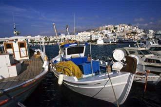 Porto da Khora, em Naxos