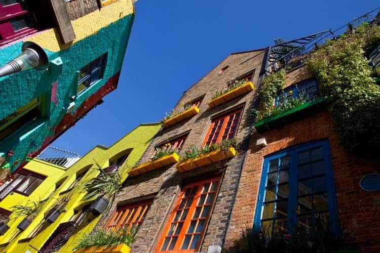 Neal's Yard, em Covent Garden
